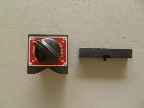 Starrett 659  magnetic  base  with bracket