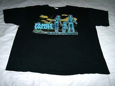 Family Values Tour 2007 Korn Evanescence Atreyu Black Concert Shirt Extra Large
