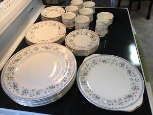 Paragon China dinnerware set