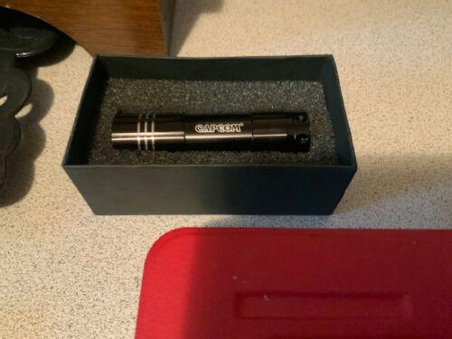 Capcom Resident Evil Mini Led Boxed Flashlight Rare Thank You Promo
