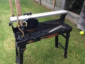 wet tile cutter for sale Kew East Boroondara Area Preview