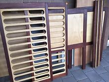 Jarrah & Pine cot sides and slats Magill Campbelltown Area Preview