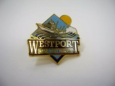 Vintage Collectible Pin  Westport Naco West Resorts