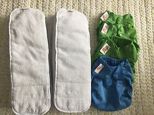 4 caches couches lavables