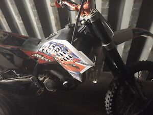 2008 Ktm 450xsf new battery and fork seals $3500