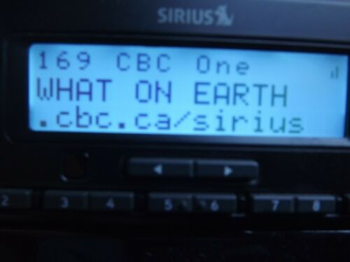 SIRIUS  STRATUS 6 XM  radio receiver ONLY ACTIVE LIFETIME SUBSCRIPTION