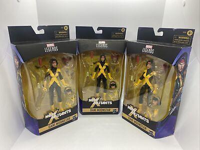 Marvel Legends Dani Moonstar Wolfsbane Karma x3 Walgreens Exclusive New Mutants
