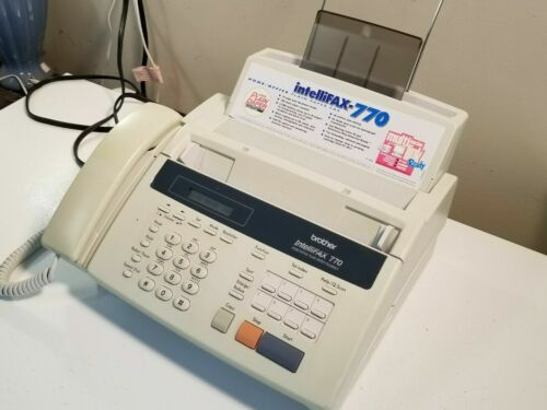 Brother Intellifax 770 Home Office Copy Fax Machine