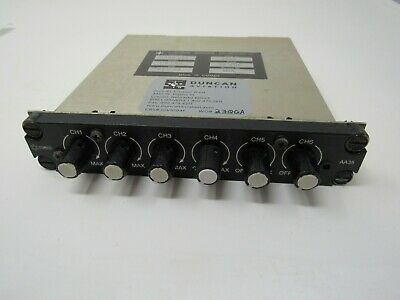 Audio Mixer Panel, SN#2999, #AA35-001