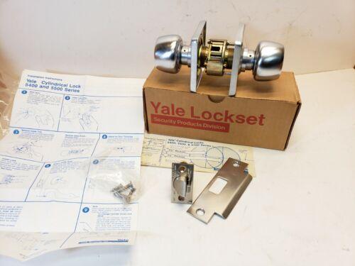 Yale 5421BW Series Grade 1 Double Cylinder Lockset Communicating Satin Chrome