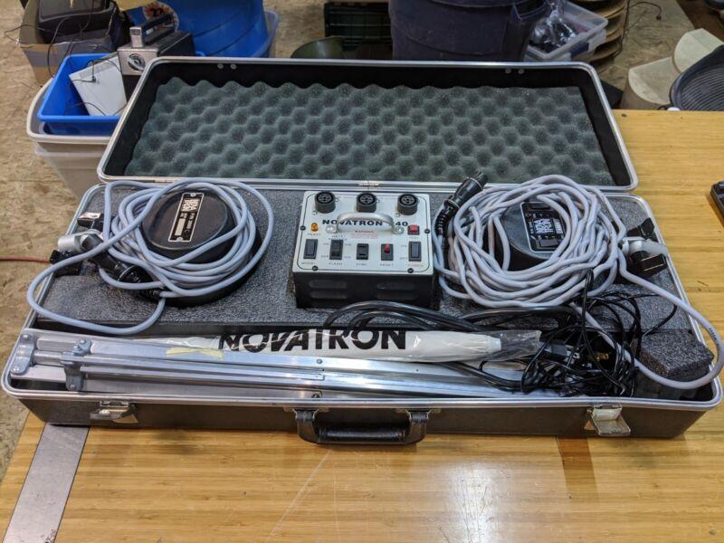 Novatron 240 Photography Lighting Kit