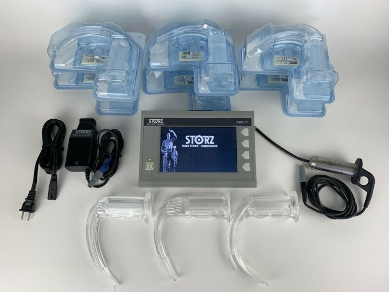 Karl Storz 8402XS C-Mac S Imager & 8402ZX Mint Conditon - Includes many extras!