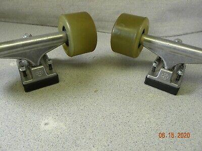 Independent Silver 139mm Truck 8.0 Package Skateboard Spitfire Wheels 53mm Abec 7 Bearings DECK
