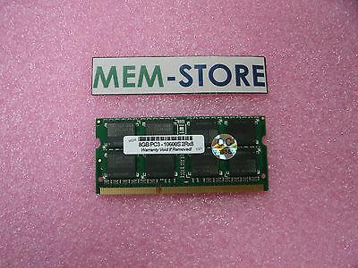 8GB (1x8GB) DDR3-1333 2Rx8 PC3-10600S non-ECC Memory Samsung Series 7
