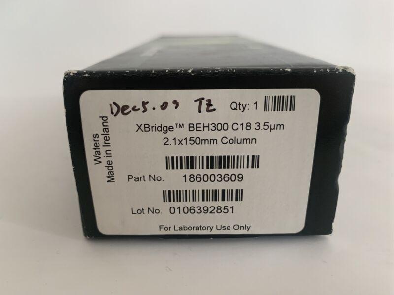 Waters XBridge BEH300 C18 3.5um 2.1 X 150 mm Column PN 186003609