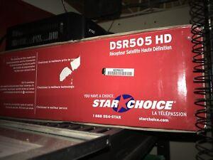 Star choice hd satellite reciever