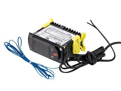 Carel Temperature Thermostat Pzgxs0j111 With 2 Temperature Sensor Probes 115v