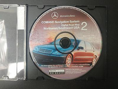 Mercedes Benz Comand Navigation System DVD #2 part number Q6 46 0110 #CD97