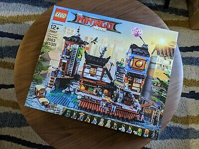 LEGO Ninjago Movie NINJAGO City Docks 70657 — *100% Complete, Retired Set*