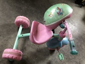 Mermaid tricycle with helmet