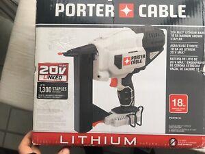 New Porter Cable PCC791B 1,5 inch Stapler 20V