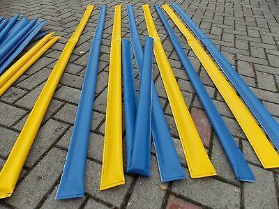 Bodenarbeit, Dualgassen, 8 Stück, klappbar 4x gelb und 4x blau mit Tasche-.-.-.-