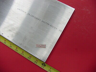 38 X 8 Aluminum 6061 Flat Bar 24 Long Solid T6511 Extruded Plate Mill Stock