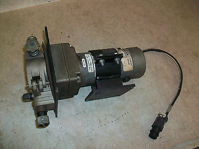 Mig Welder Power Wire Feed W Statuce Electric Motor 115vdc