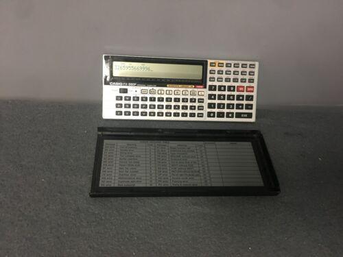 Casio FX-880P Personal Computer Scientific Library Calculator