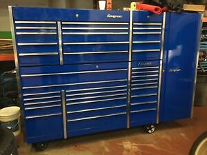 Massive and mint snap on tool box lower upper and side cab