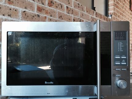 Breville Stainless Steel Microwave Revesby Bankstown Area Preview