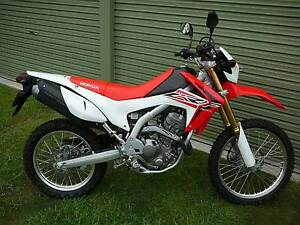 2016 HONDA CRF250L MOTORCYCLE AS NEW 178KM Wauchope Port Macquarie City Preview