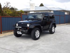 2011 JEEP Wrangler SPORT (4x4) *FREE 12 Month warranty* Margate Kingborough Area Preview