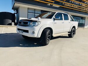 2009 Toyota Hilux Sr5 (4x4) 4 Sp Automatic Dual Cab P/up