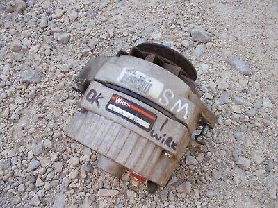 Farmall Jd Ih Allis Chalmers Tractor 12v Alternator Drive Pulley Good Working