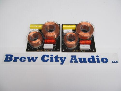 Pair of 12db Speaker Crossover Network 2 Way 300 Watt 8 OHM TL-280 Divider