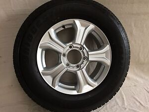 Isuzu D-Max tyres and rims x 4 Redcliffe Redcliffe Area Preview