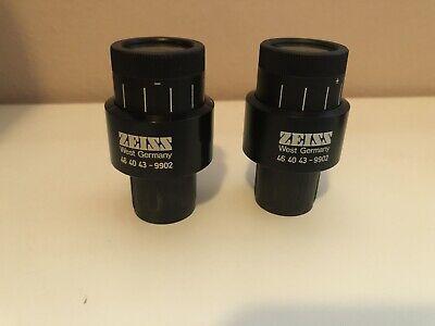 Zeiss Kpl 10x 18 Eyepiece Pair