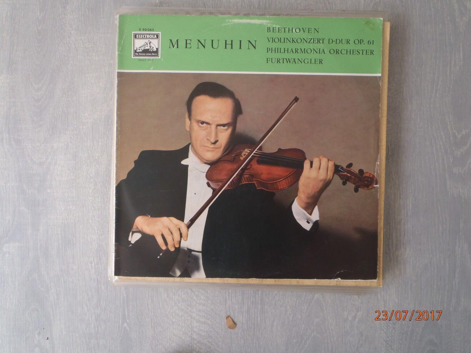 Ludwig Van Beethoven-Yehudi Menuhin Vinyl album