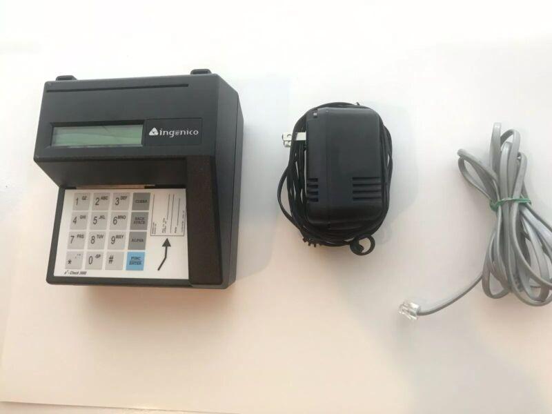 Ingenico MR3000 eN-Check 3000 Check Reader with internal LIU