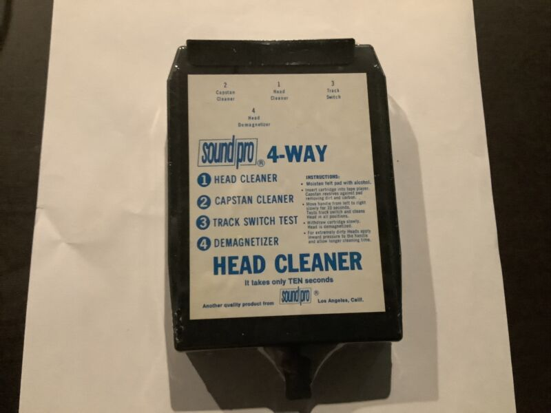 Sound Pro 8 Track Head Cleaner