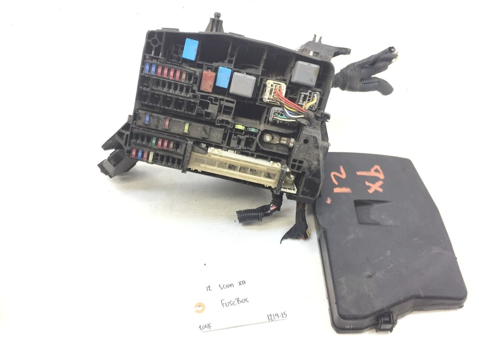 2012 Scion Fuse Box Wiring Library Xb Main Wire Relay Panel Connector Harness End Clip Engine