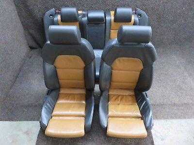 Original Audi A6 4F Leather Trim Bicolour Memory Sportsitze Heated Seats Shz