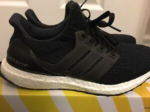 Ultra Boost 3.0 Core Black size 7.5