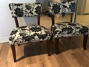Both chairs for sale