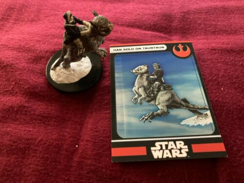 Han Solo on Tauntaun 3/17 Rebel 27 Hoth RPG game miniature