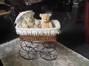 DOLL'S PRAM - ANTIQUE STYLE + TEDDIES Geilston Bay Clarence Area Preview
