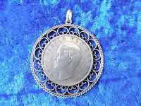 Bella,vecchio Ciondolo Moneta__baviera 1911__argento__4,9cm__medaglione -  - ebay.it