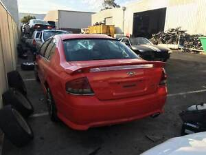 Ford Falcon Xr6 2005 Orange Wrecking Welshpool Canning Area Preview