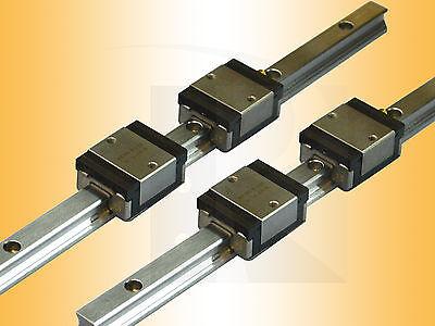 Linearführung - Kugelumlaufführung - 2 x ARC25-MS-S-2-V1-N-1000 - Linear Guide